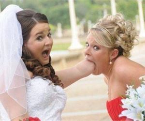 Hilariously Awkward Wedding Photos That Will Make Your Day