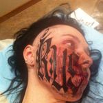 This Girl Got Her Boyfriend's Name Tattooed Across Her Face!