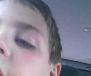 'It Just Goes Kablooie' – Boy Describes First Kiss in Funny Video